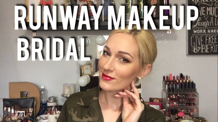 RUNWAY MAKEUP TUTORIAL | For Bridal Runway Modeling