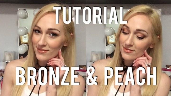 BRONZE & PEACH MAKEUP TUTORIAL | Everyday Spring & Summer MakeupLook