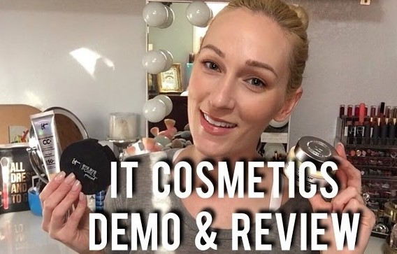 TESTING IT COSMETICS | Demo, First Impressions, Hot or Not?