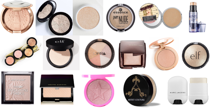 HIGHLIGHTERS FOR PALE SKIN | Glow for the {Pale} Gods