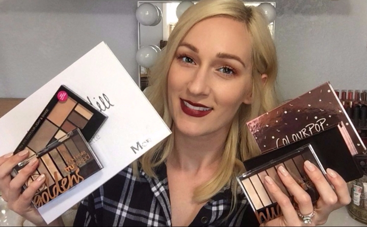 TOP 5 AFFORDABLE EYESHADOW PALETTES | It's Glam Season!